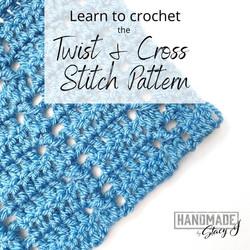 Twist & Cross Stitch Pattern