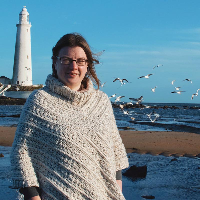 Helen Wilkinson with Sunflower Cottage Crochet