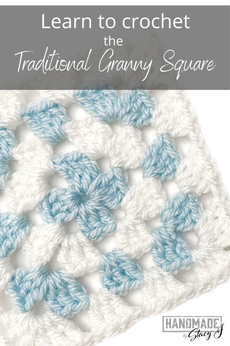 Traditional Granny Square image from Handmade by Stacy J