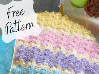 Introducing the Spring Ripples Baby Blanket!