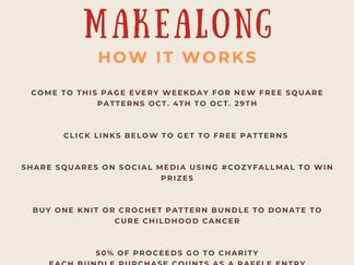2021 Charity Cozy Fall Makealong!