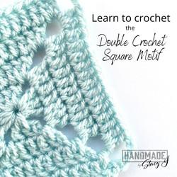Double Crochet Square Motif