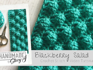 Blackberry Salad - Crochet Tutorial