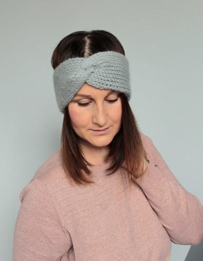 Tunisian Ear Warmer by Blue Star Crochet