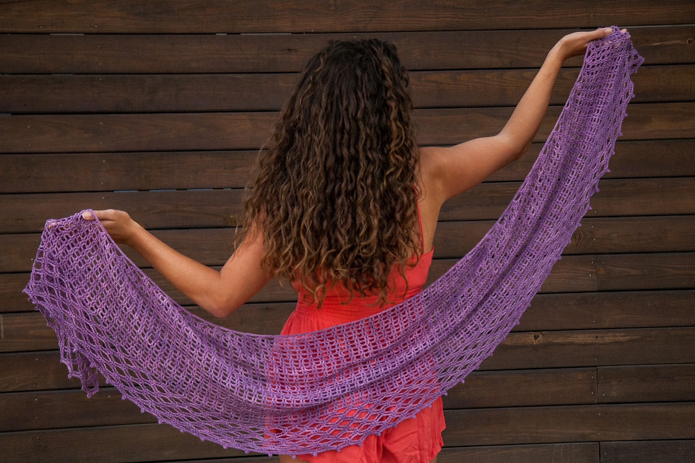 Gridlock Shawl by RV Designs