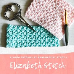 Elizabeth Crochet Stitch by Handmade by Stacy J