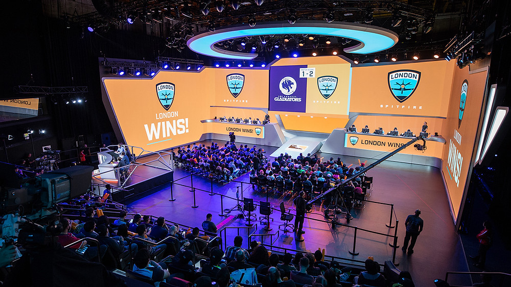 London Spitfire wins stage 1 title