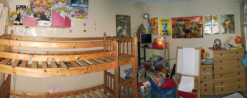 ( The old room just as we start work on it)