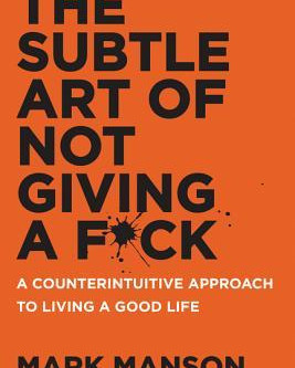 Book - The Subtle Art of Not Giving a F*ck