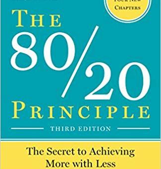 Book - The 80/20 Principle