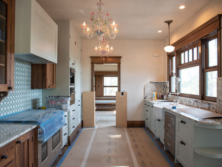The early 1900's inspired kitchen is so close!