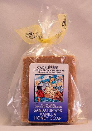 Sandalwood Vanilla Honey Soap