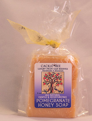 Pomegranate Honey Soap