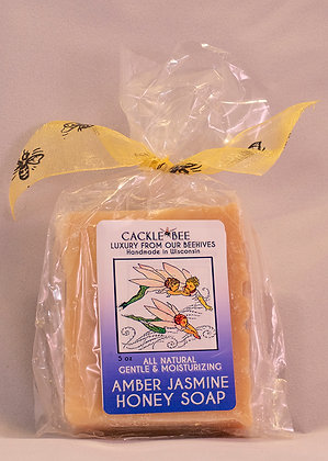 Amber Jasmine Honey Soap