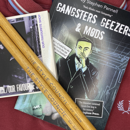 BOOK REVIEW - GANGSTERS, GEEZERS AND MODS - BY STEPHEN PENNELL