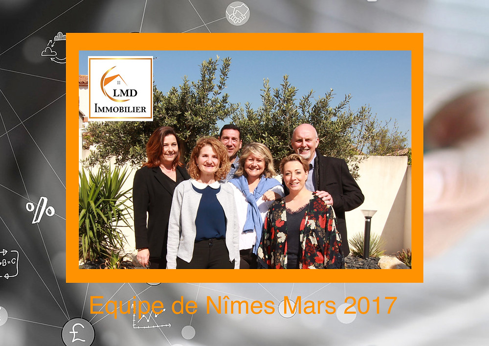Equipe LMD Immobilier NIMES