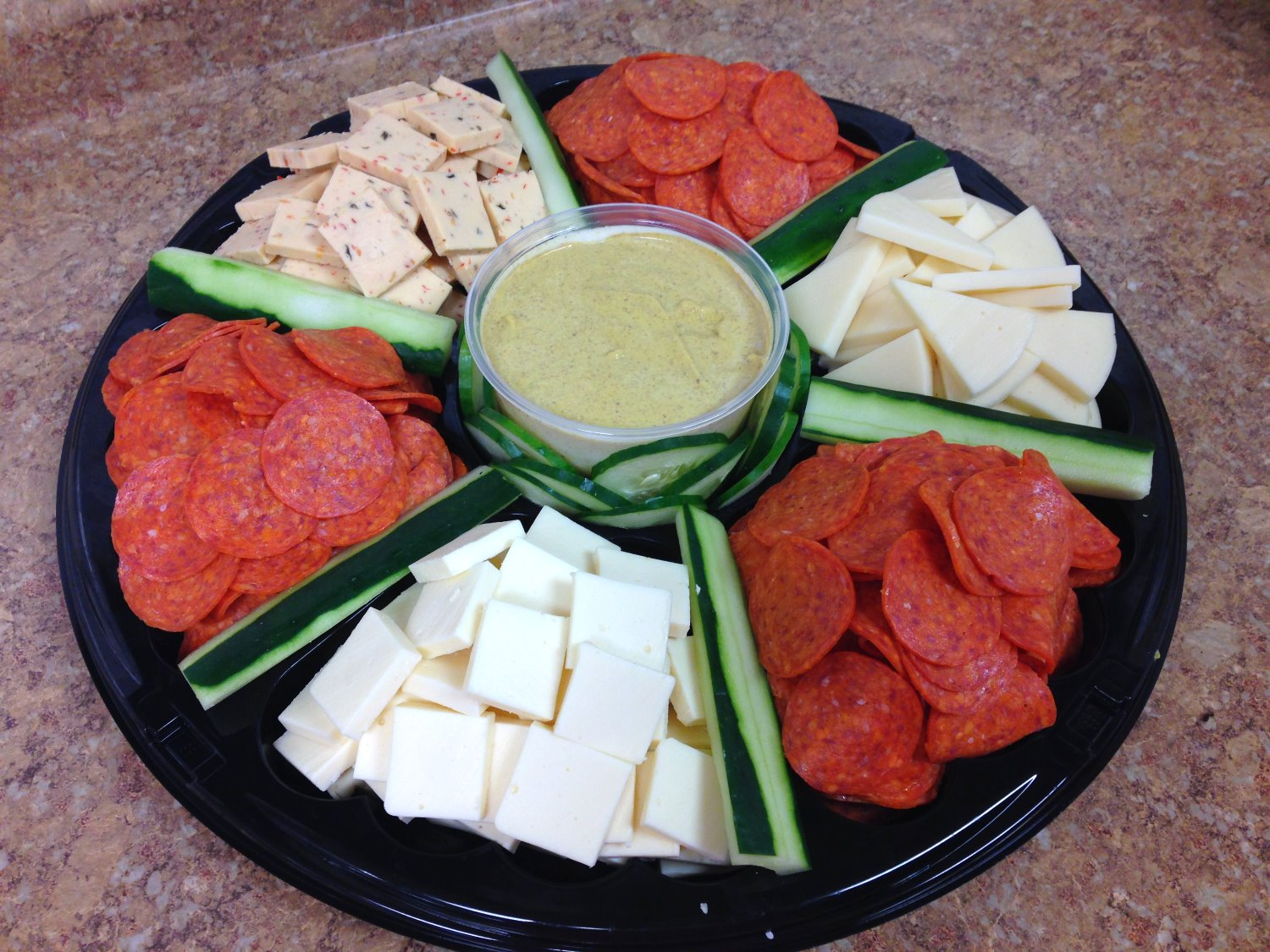 Pepperoni & Cheese Tray