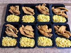 Chicken Fingers and Mac & Cheese
