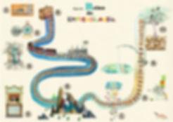 Emprendilandia Aprender Cuenta, Emprendimiento niños, talento emprendedor niños, niños emprendedores, educacion financiera niños, Juana León Alamo, mapa reino emprendilandia