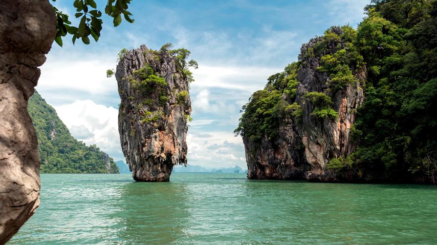 THAILAND JAMES BOND ISLAND - KOH TAPU