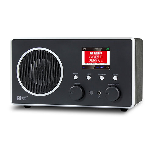 DB-280C Wooden DAB+/DAB/ FM Radio