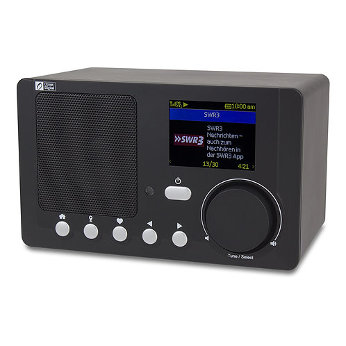 WR-210N Portable Internet Radio with Rechargeable Battery