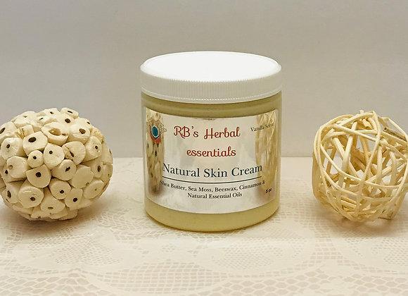 Vanilla Butter Natural Cream 8oz
