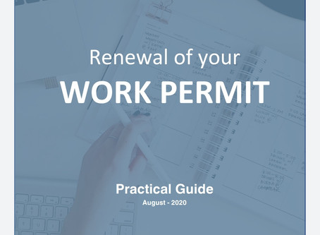 Renewing your authorization to work in the United States