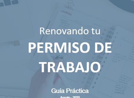 Renovando tu permiso de trabajo