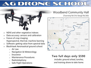 Ag Drone School: Summer Edition in Edmonton