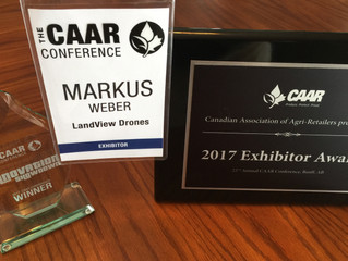 We are CAAR Exhibitor of the Year 2017