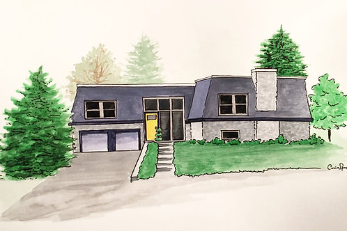 Color Home Illustration