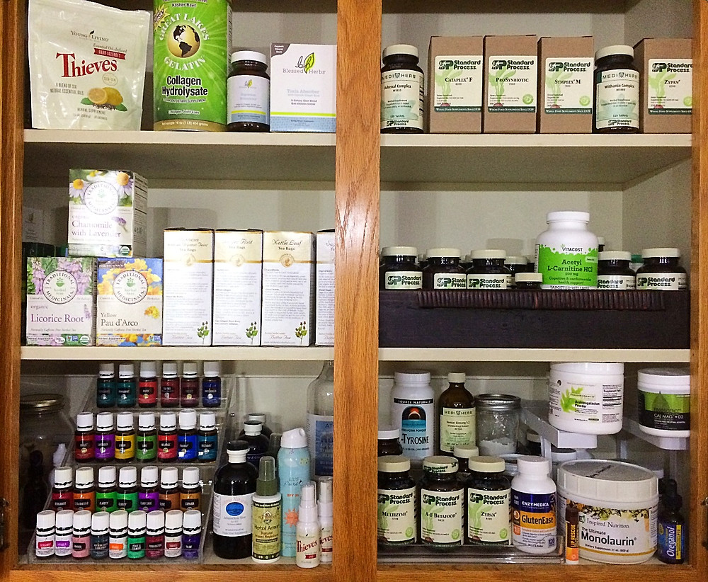 functional medicine medicine cabinet, natural alternatives