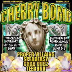 #CHERRYBOMB 8.29.14