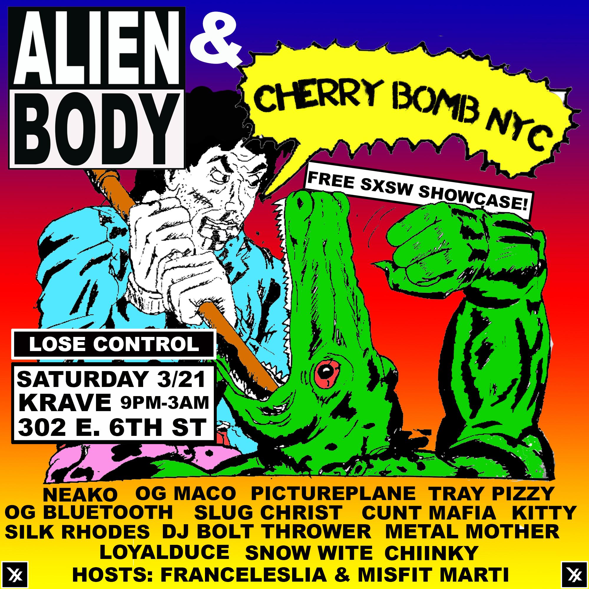 SXSW CHERRYBOMB 3.21.15