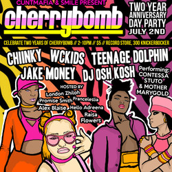 CHERRYBOMB 2 YEAR ANNI JUNE 2ND 2015