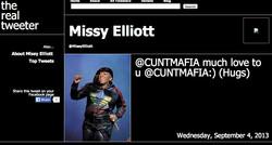 MISSY ELLIOT SHOUTS OUT CUNTMAFIA