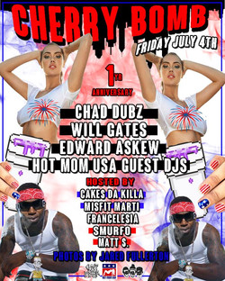 #CHERRYBOMB JULY 4TH