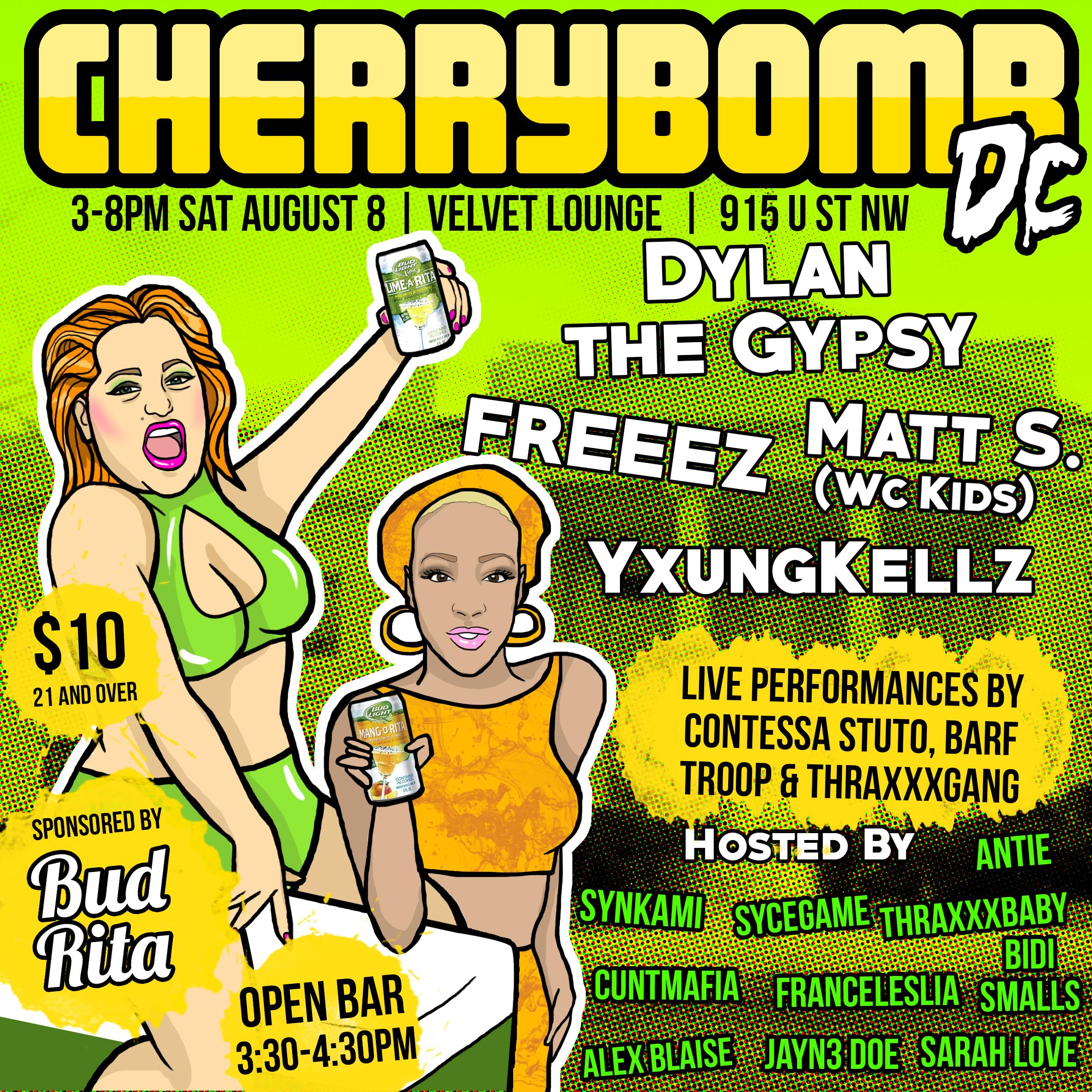 #CHERRYBOMB DC 08-08-15