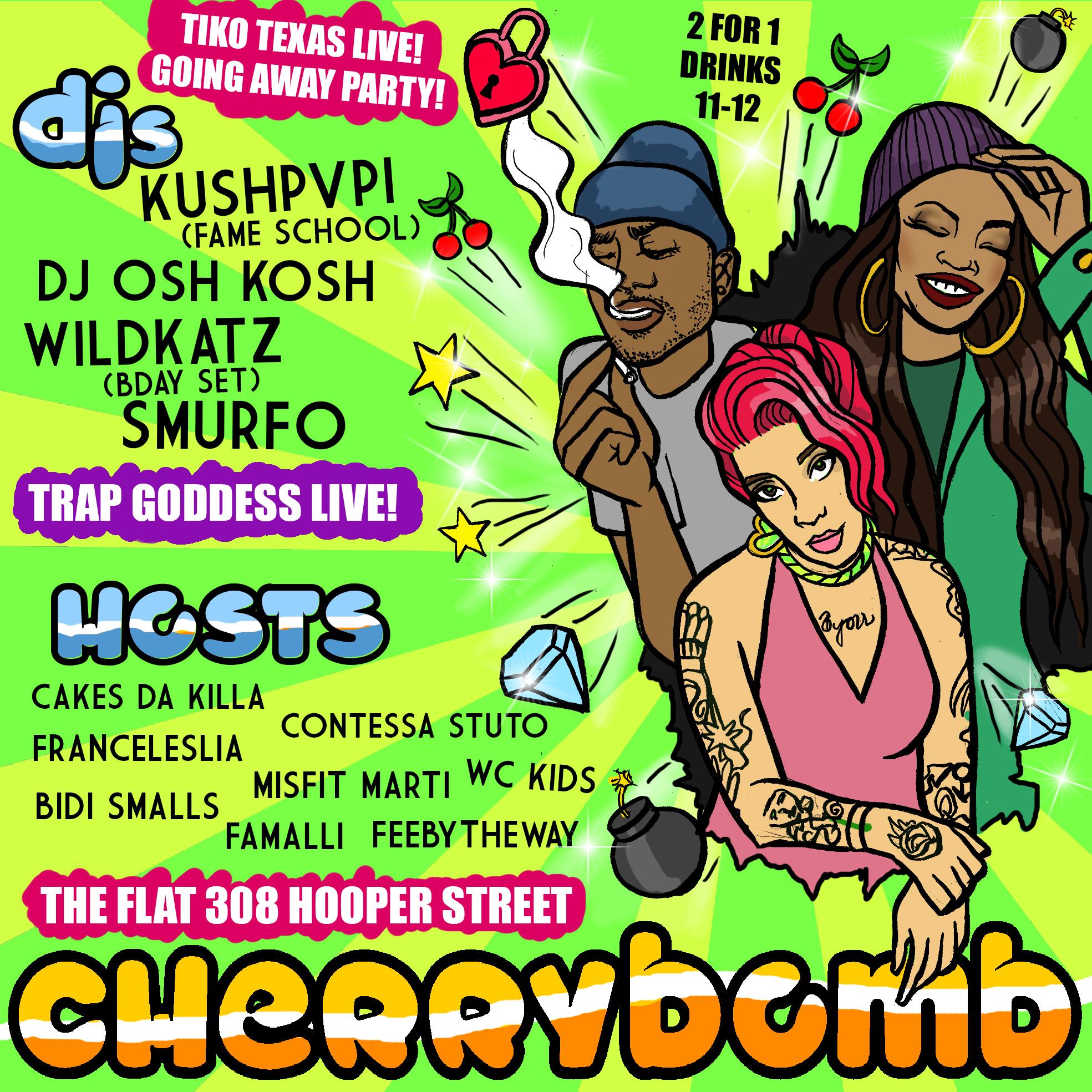 Cherrybomb 3.06.15