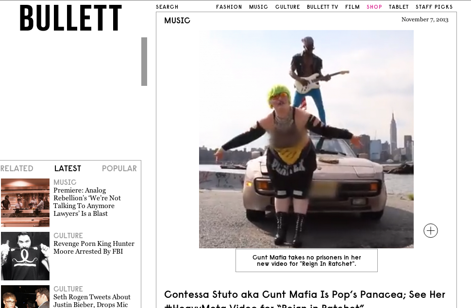 BULLET MAGAZINE: REIGN IN RATCHET
