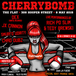 Cherrybomb May 8th 2015