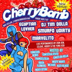 Cherrybomb August 21st 2015
