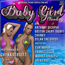 BABY GIRL SUNDAY JULY 5TH