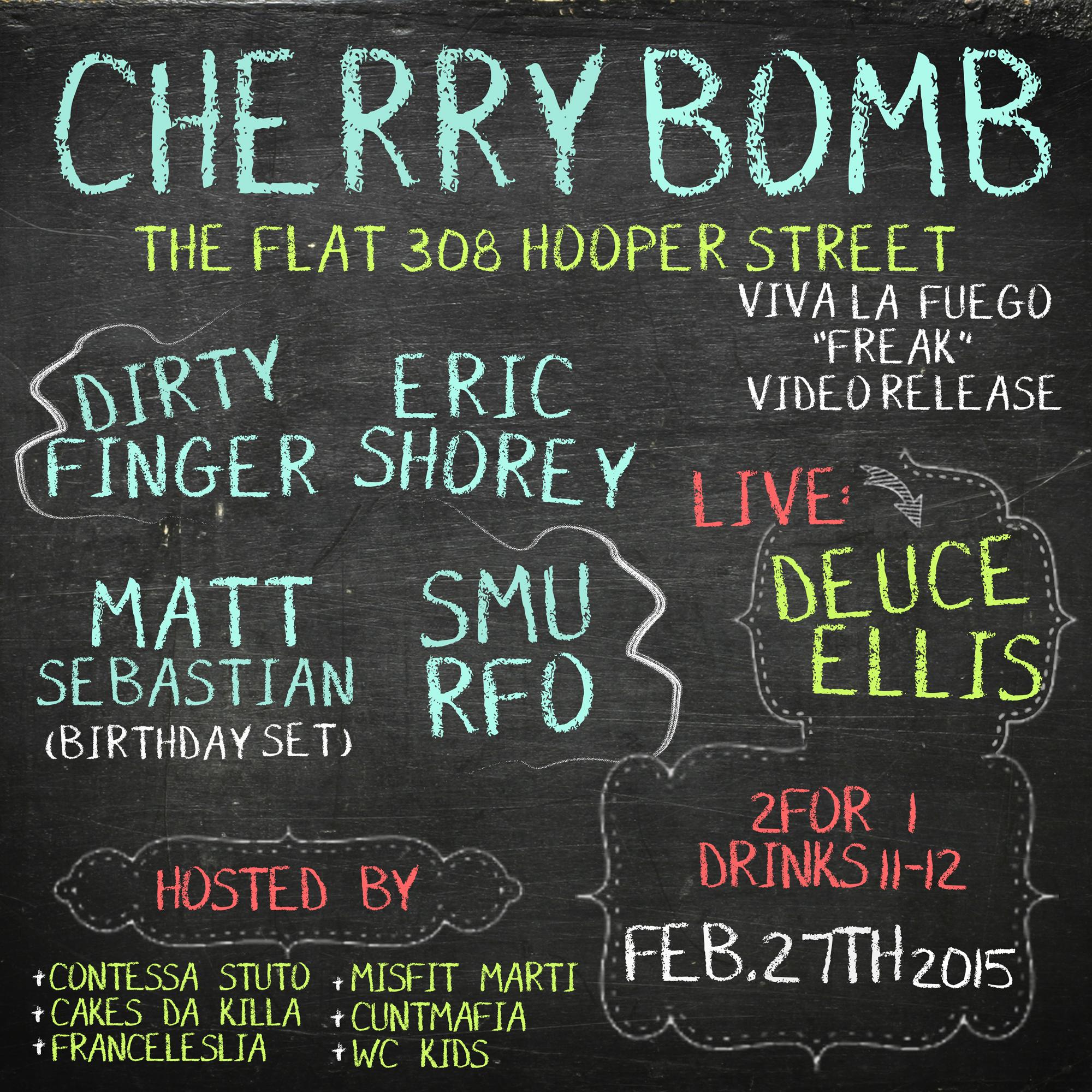 Cherrybomb 02.27.15