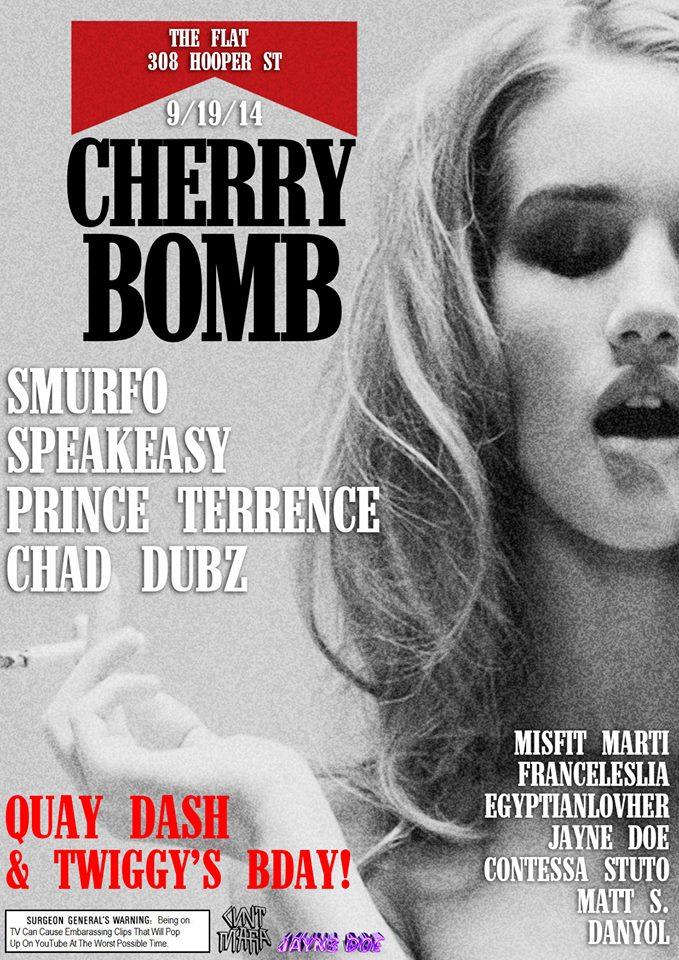Cherrybomb 9.19.14