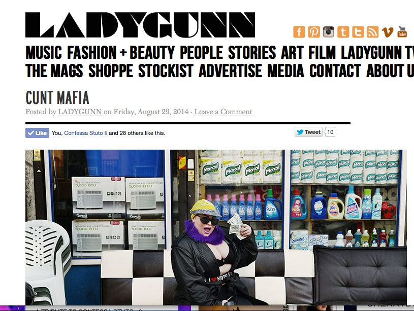 LADYGUNN Magazine Interview