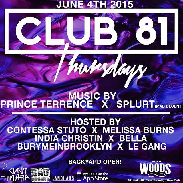 CLUB 81 JUNE 4TH