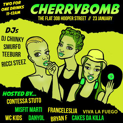 Cherrybomb 01.23.15