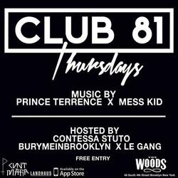 #CLUB81 04.30.15